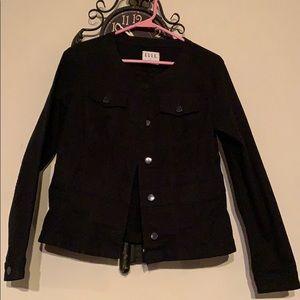 Elle Moto style denim jacket
